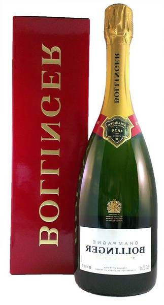 Bollinger champagne - exclusif
